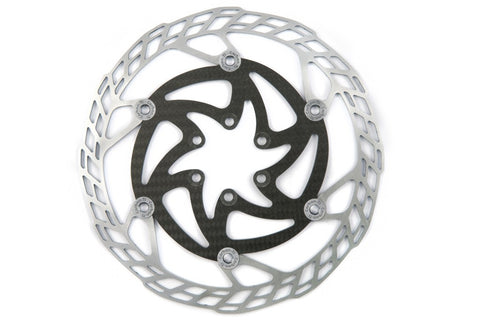Carbon Ti X-Rotor Steel/Carbon disc brake rotors