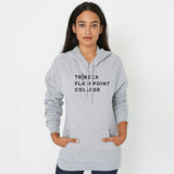 American Apparel Unisex California Fleece Pullover Hoodie (More Colors Available)