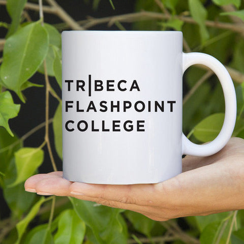 11oz Tribeca Flashpoint Coffee Mug, White Gloss