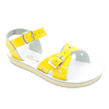 Salt Water Sandals Sweetheart in Shiny Yellow, 1401