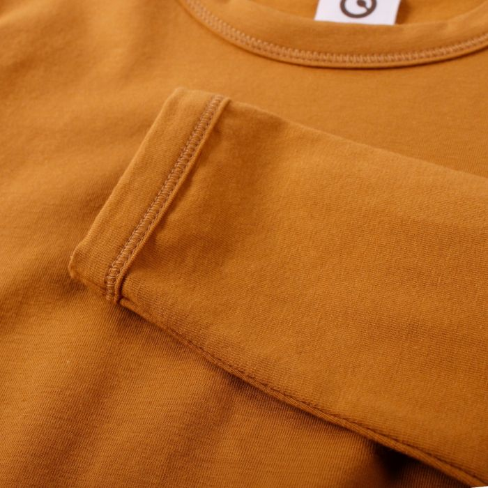 Müsli Cozy Me Solid Long-Sleeve T-Shirt - Wood