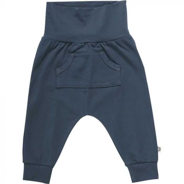 Müsli Cozy Me Baby Pants with Pocket - Midnight