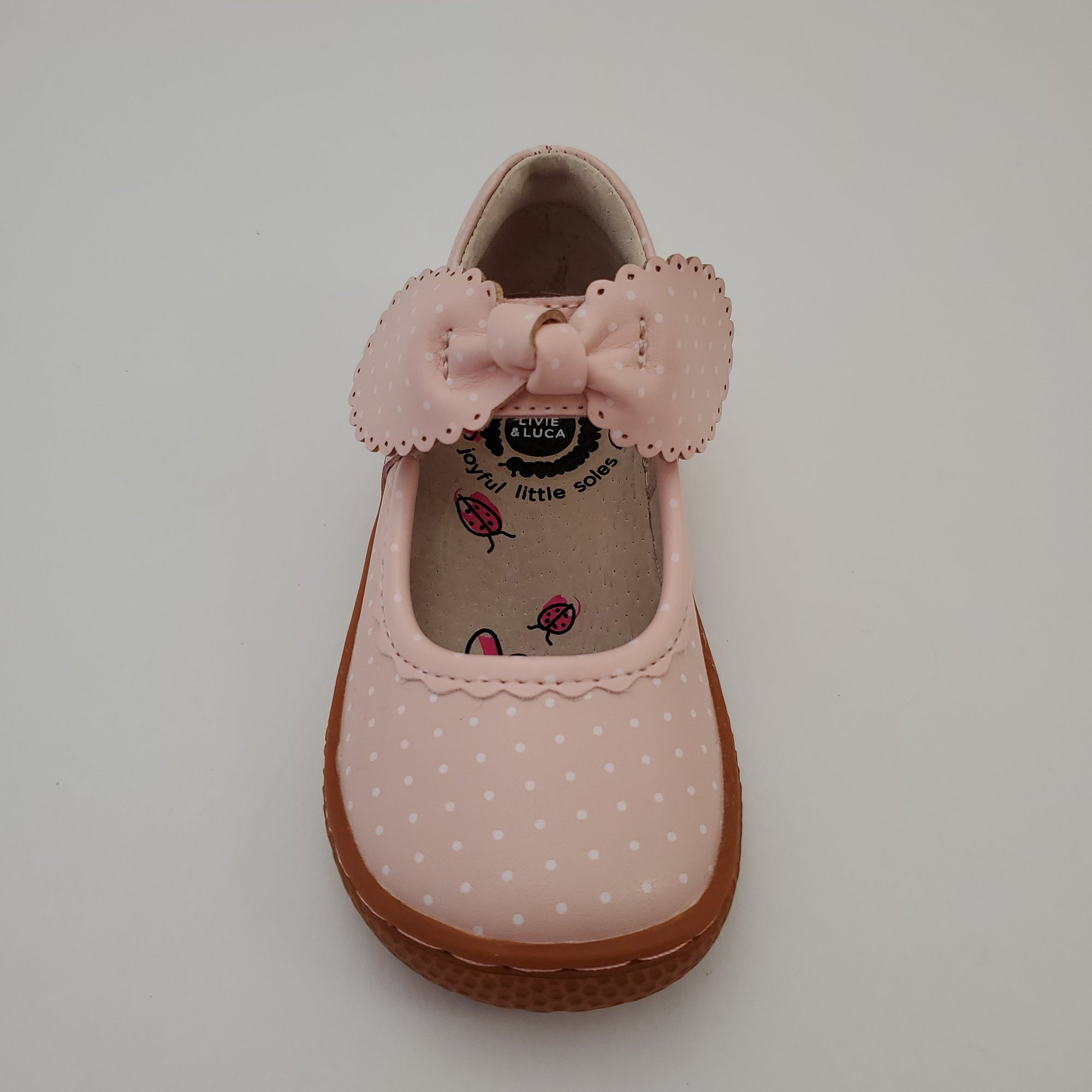 Livie & Luca Knotty - Powder Pink Polka Dot