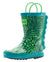 Oakiwear Loop Handle Rubber Rain Boots - Scaly Monster