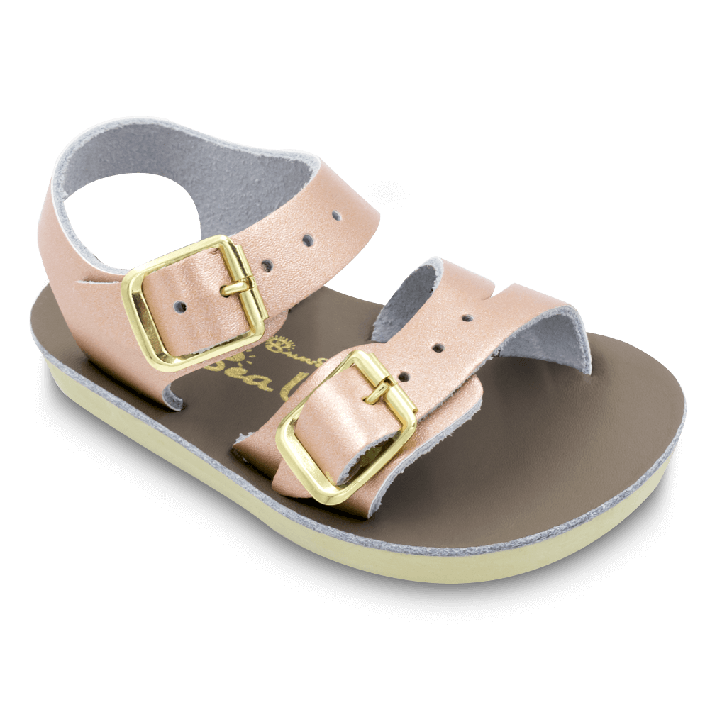 Salt Water Sandals Sea Wee in Rose Gold, 2021