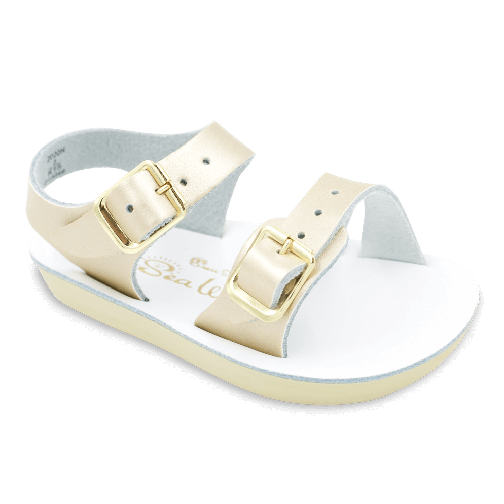 Salt Water Sandals Sea Wee in Gold, 2020