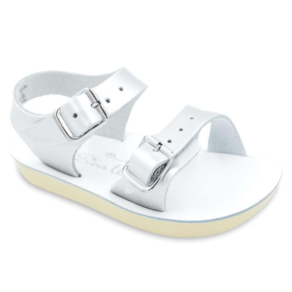 Salt Water Sandals Sea Wee in Silver, 2012