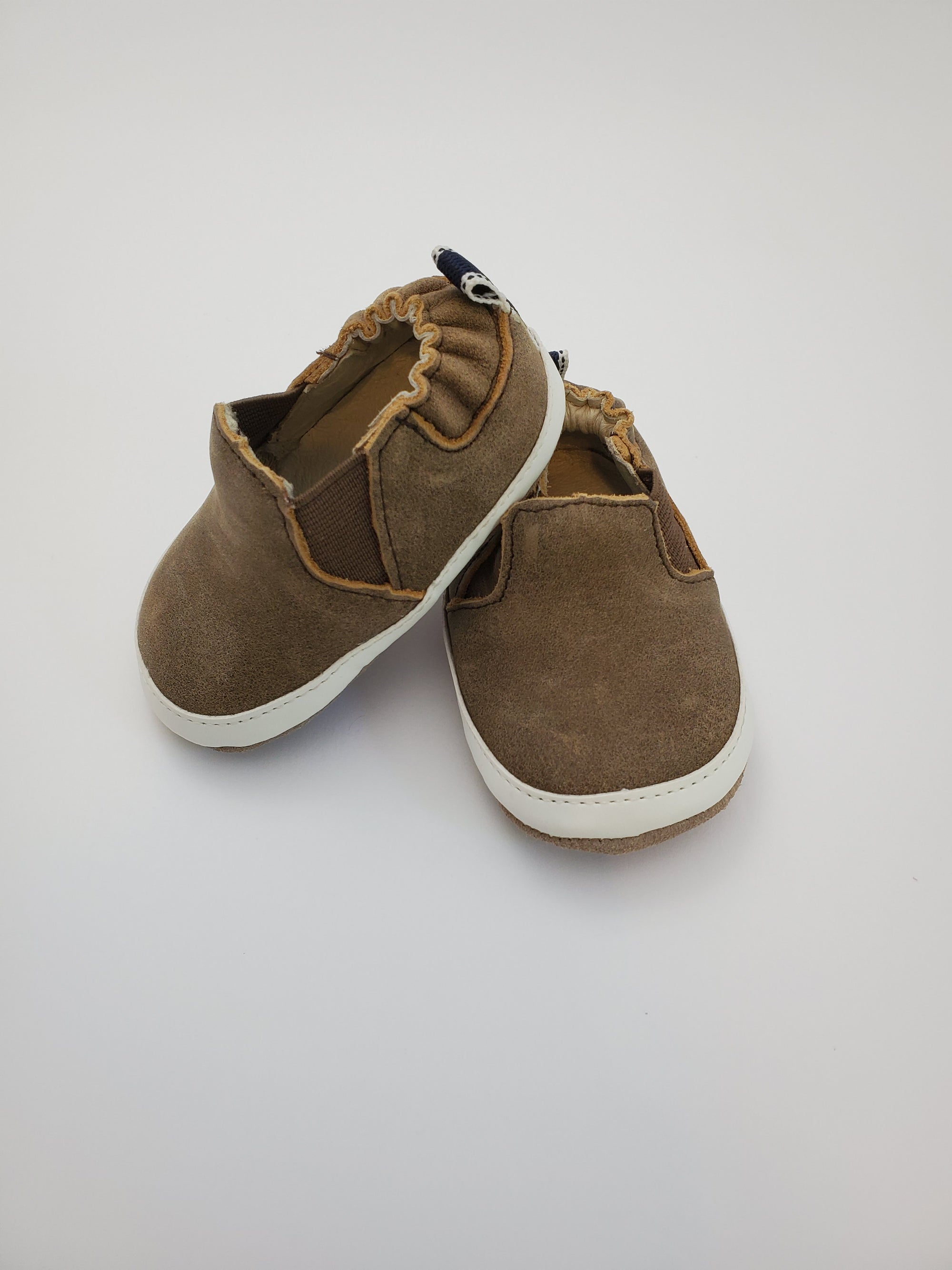 Robeez Lenny Loafer Brown Mini Shoez