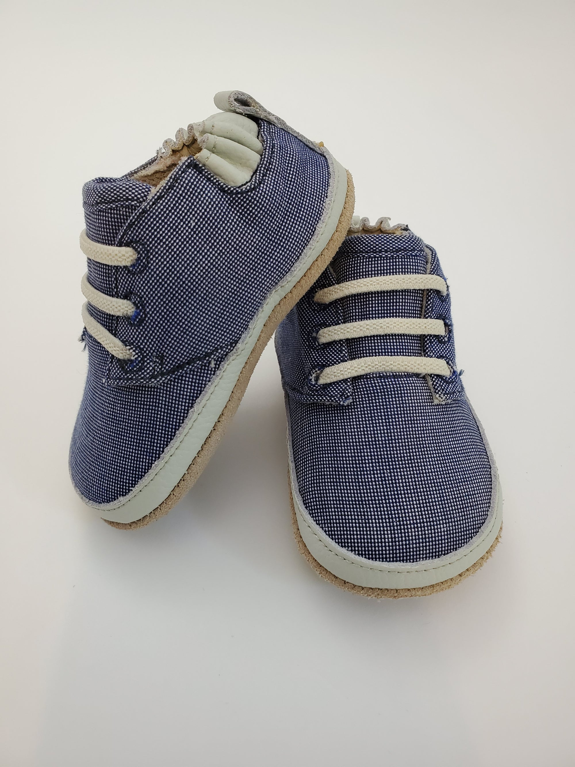 Robeez Steven Low Top Denim Mini Shoez