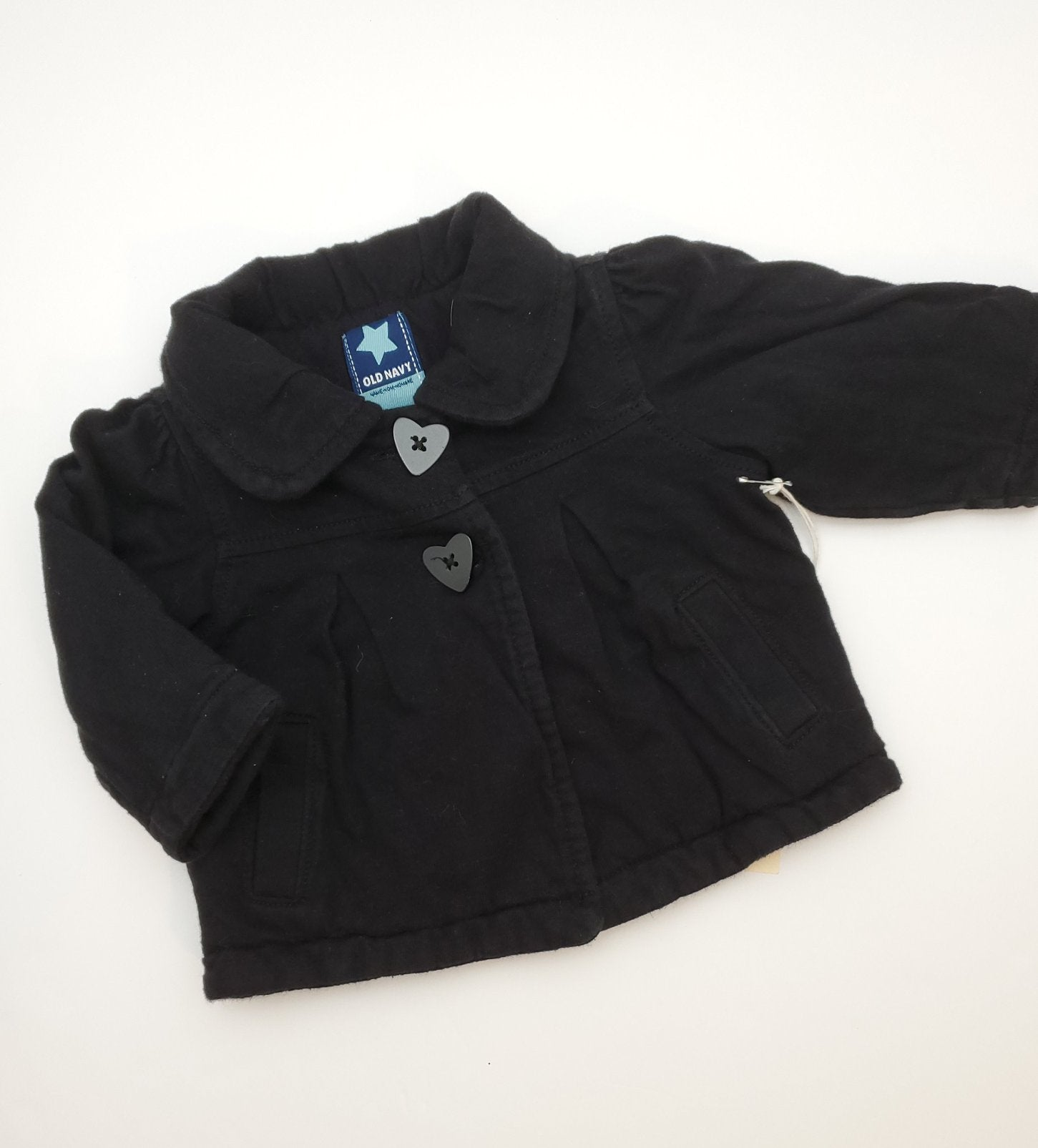 Resale 3-6 m Old Navy Black Jacket & 3 m Carters Footed Tights