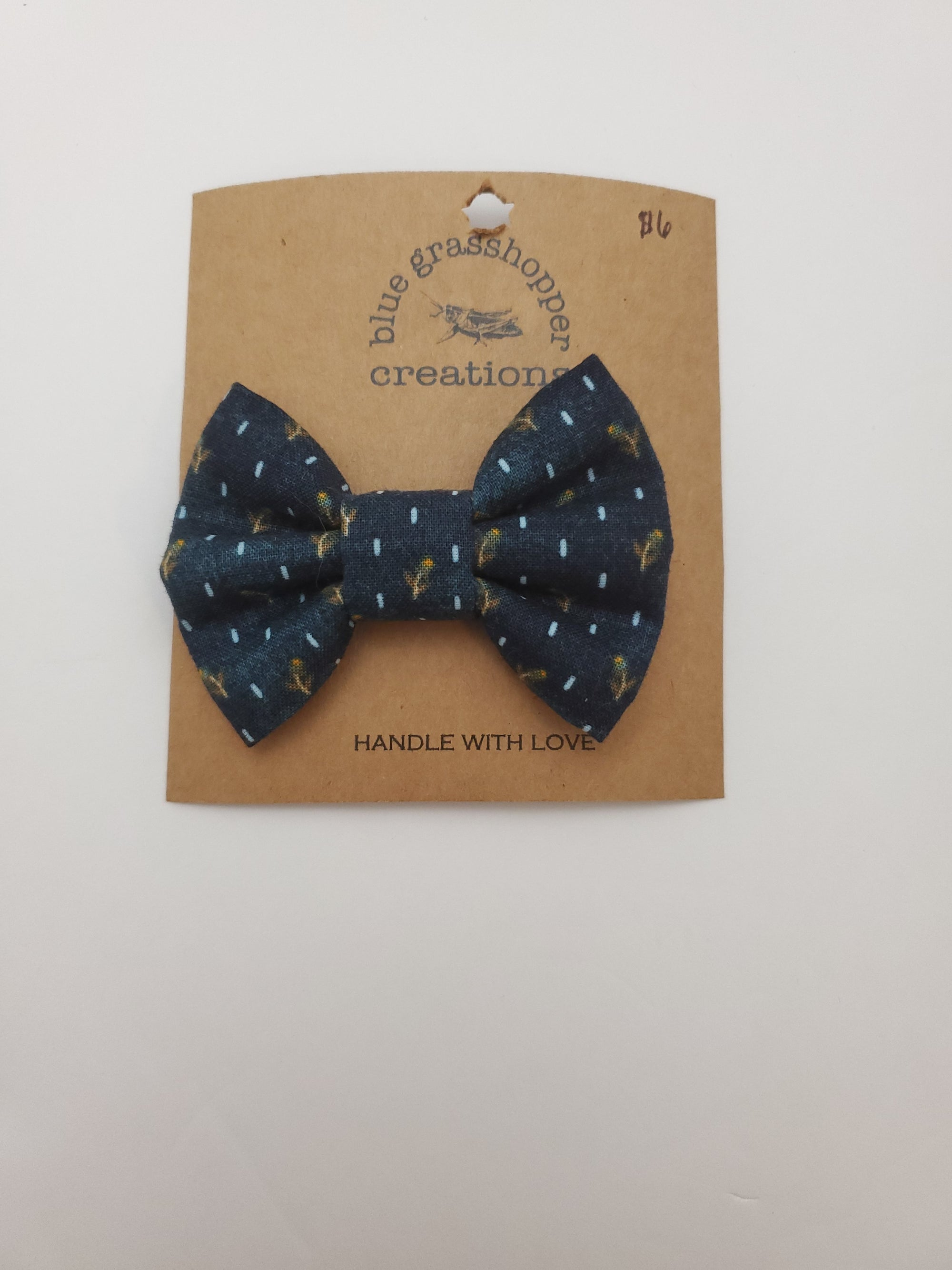 Blue Grasshopper Creations Bow / Bow Tie