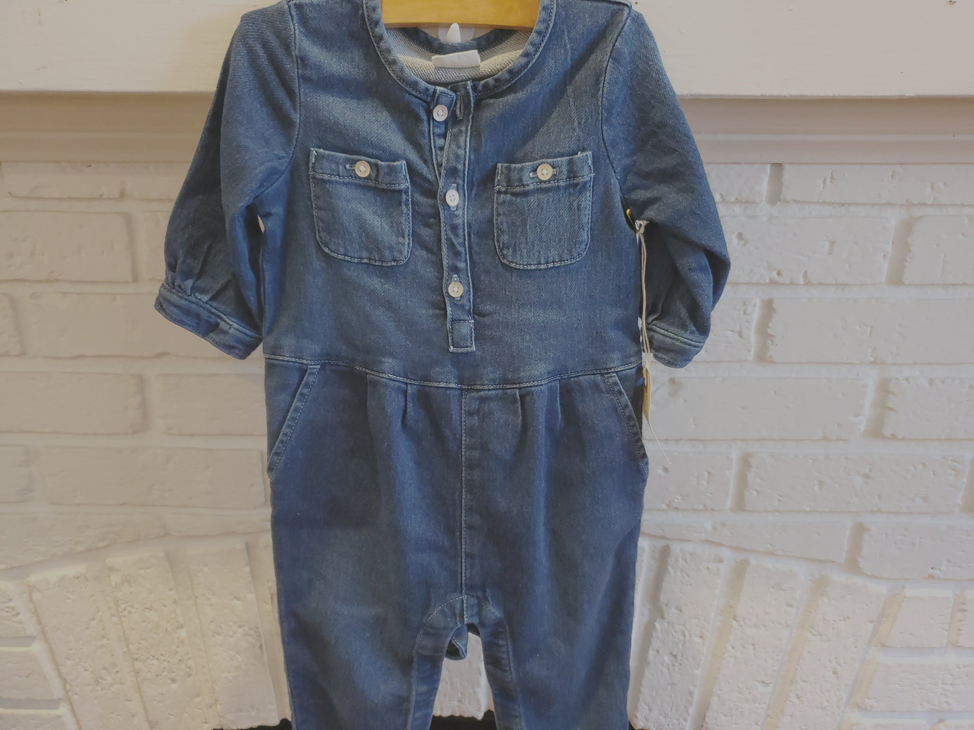 Resale 18-24m Baby Gap Denim Romper