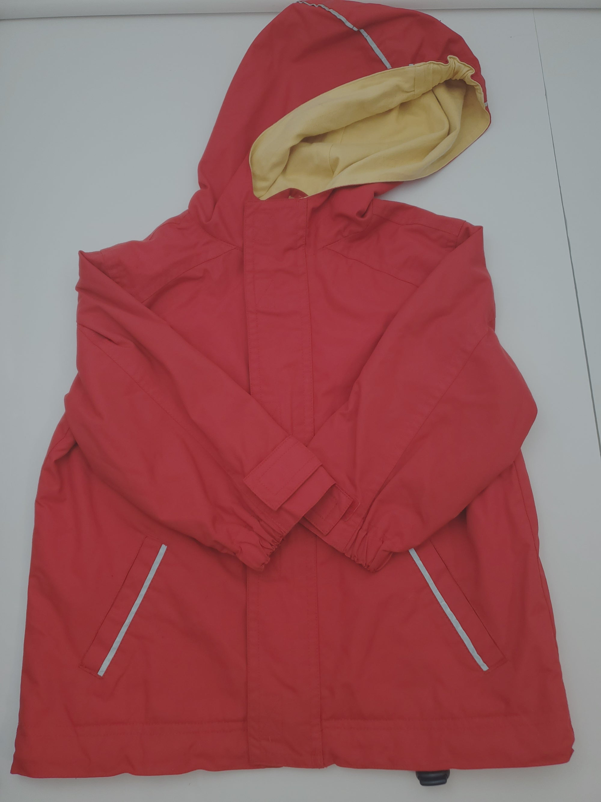 Resale 90 (18-24m) Hanna Andersson Red Hooded Jacket