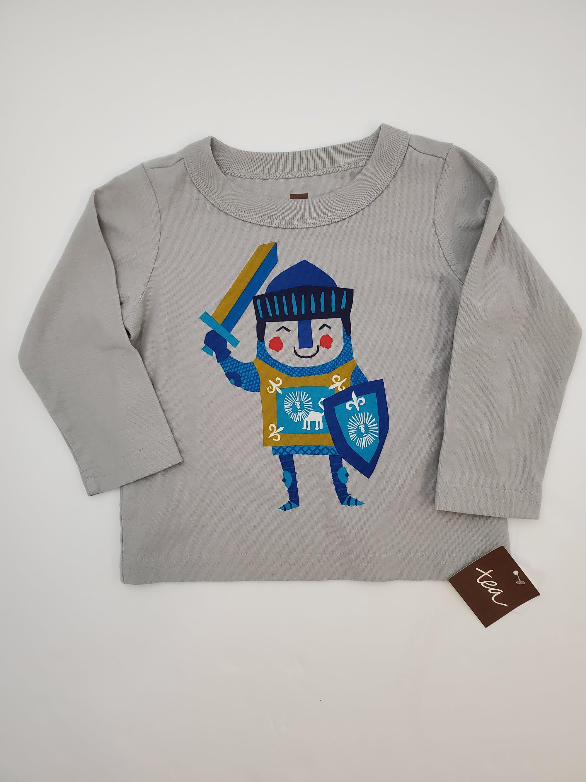 Tea Collection 6-9 m Little Knight Graphic Tee Shirt
