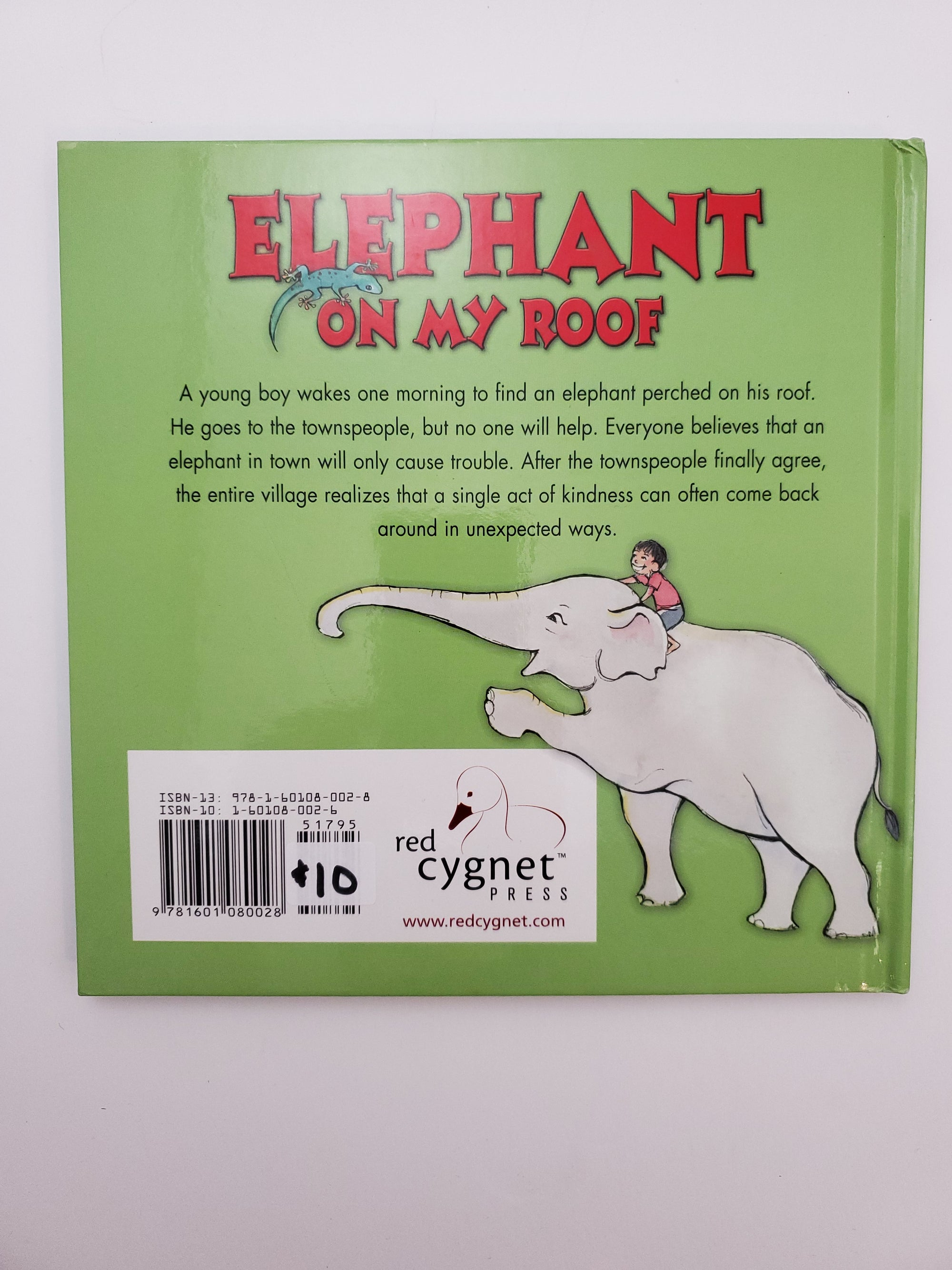 Elephant On My Roof Book - Written & Illustrated by Erin Harris