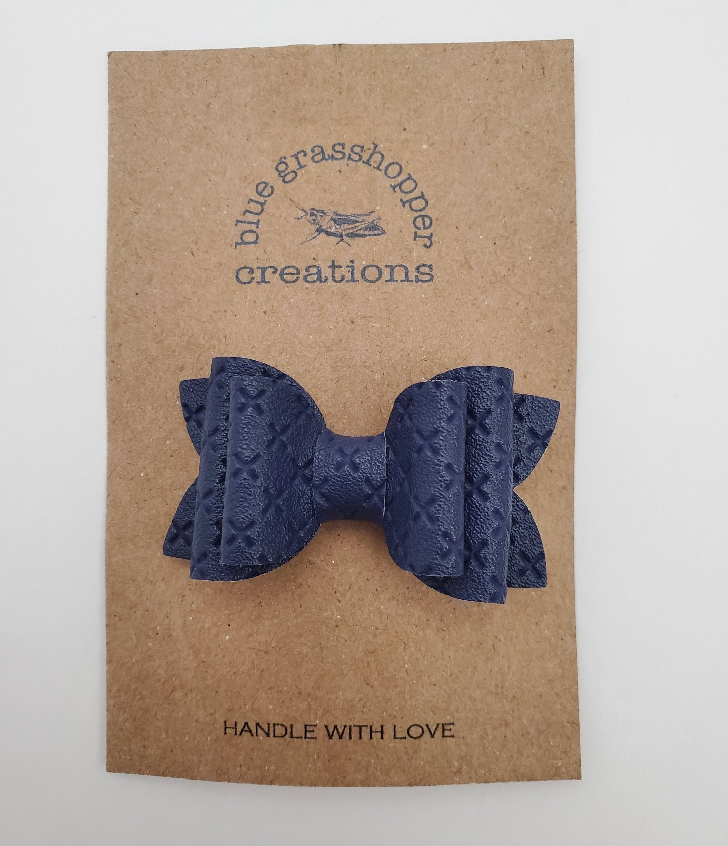 Blue Grasshopper Creations Bow - Structured Navy