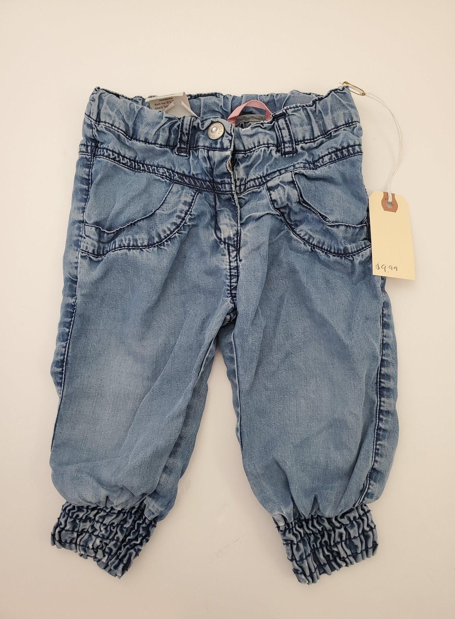 Resale 9m Sarahanda Denim Joggers