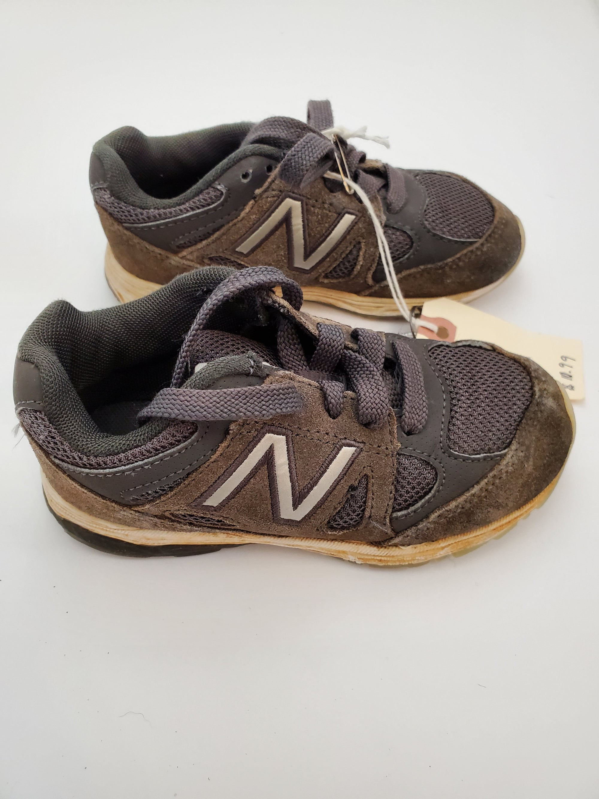 C9.5 New Balance Athletic Shoes - Grey