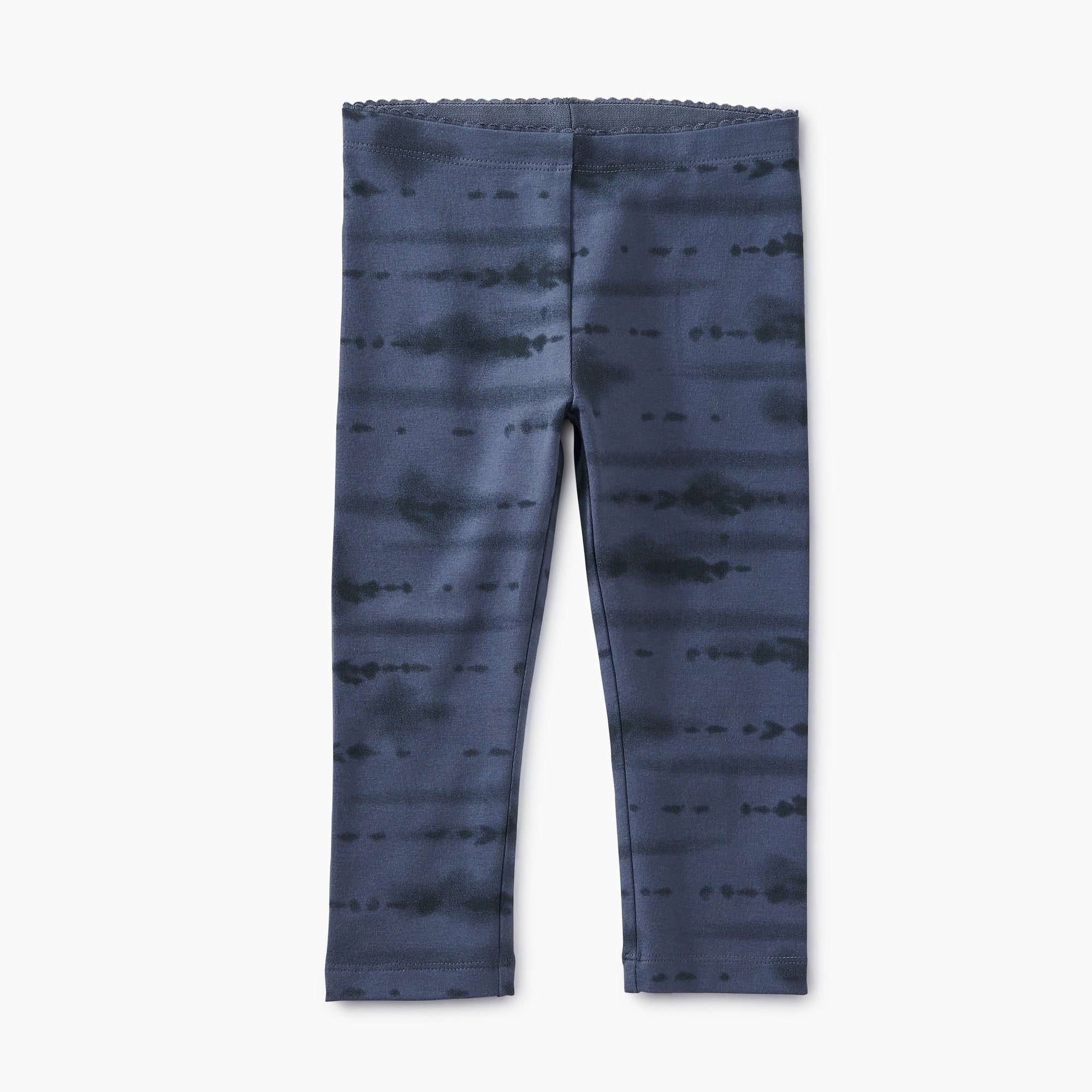 Tea Collection Capri Leggings - Tie Dye/Indigo