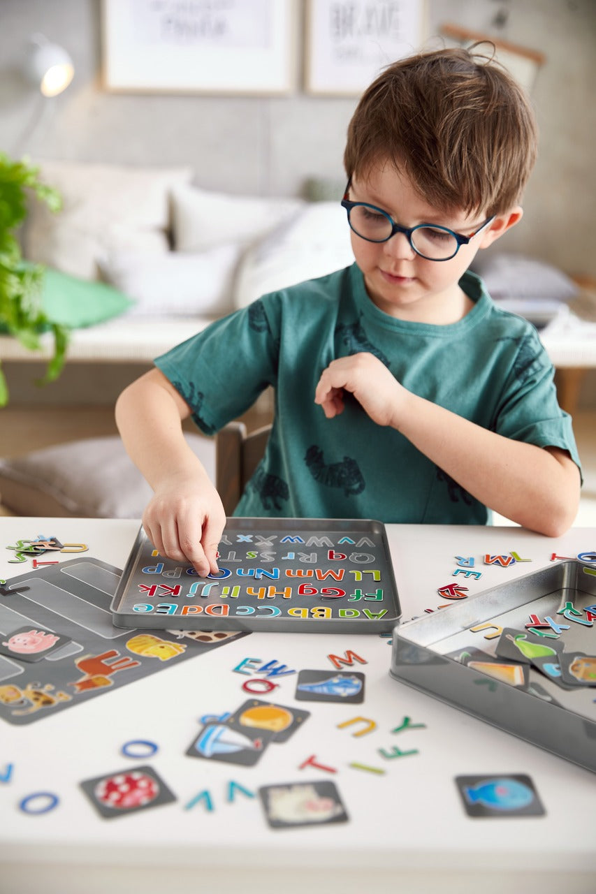 HABA Magnetic Game Tin - Alphabet