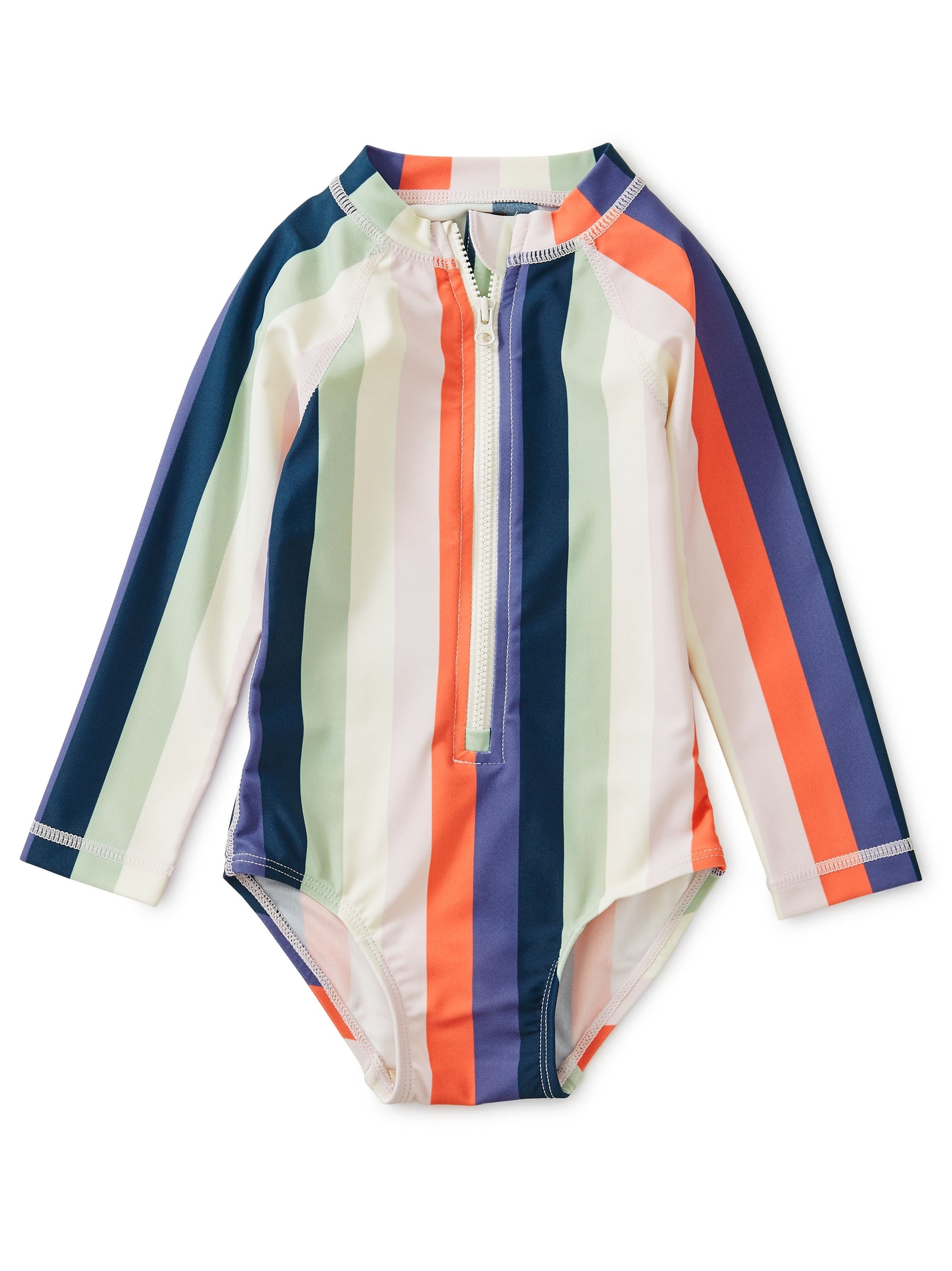 Tea Collection Rash Guard 1-PC - Striped Right