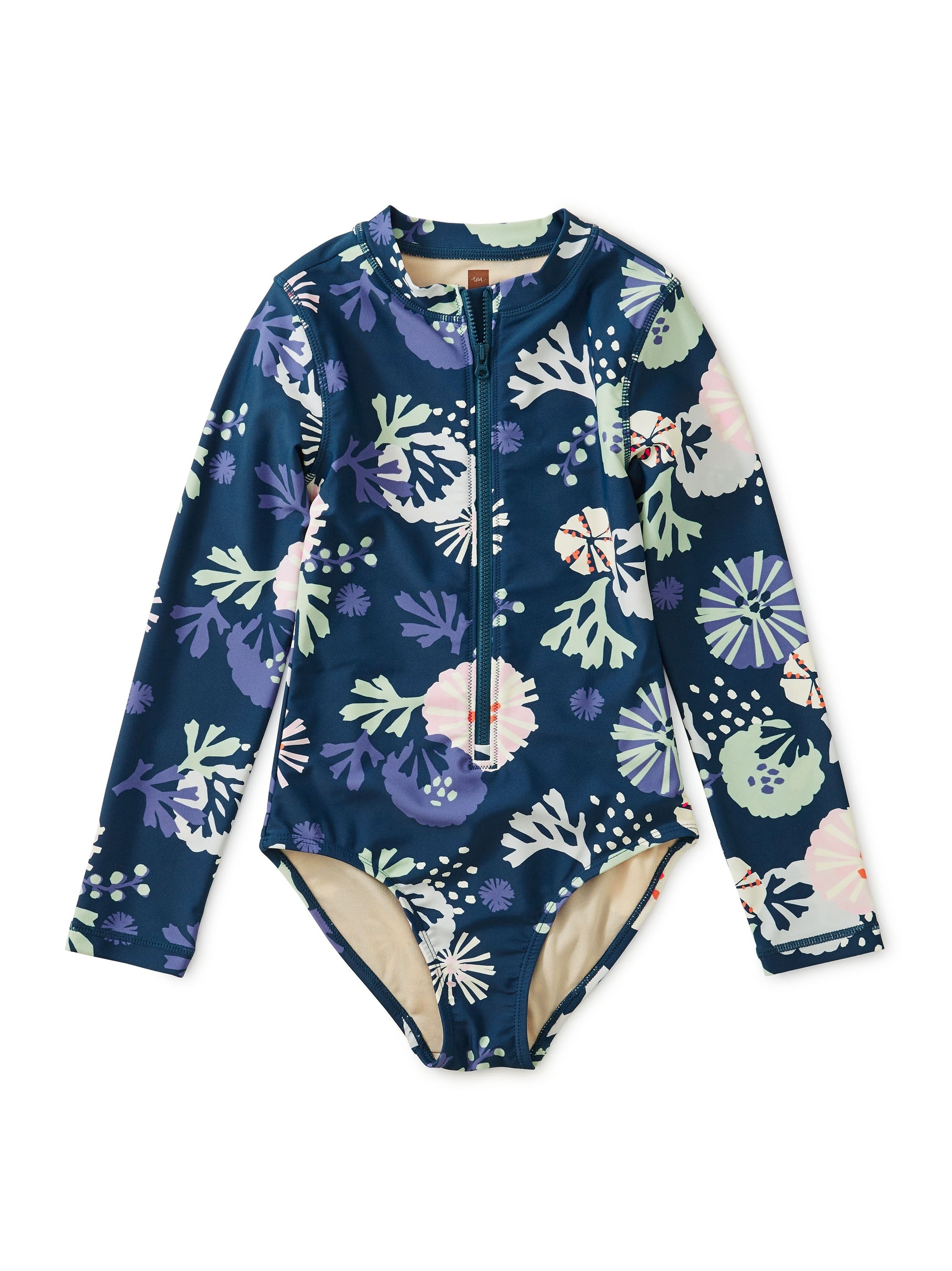 Tea Collection Rash Guard One Piece Sea Life Adventure