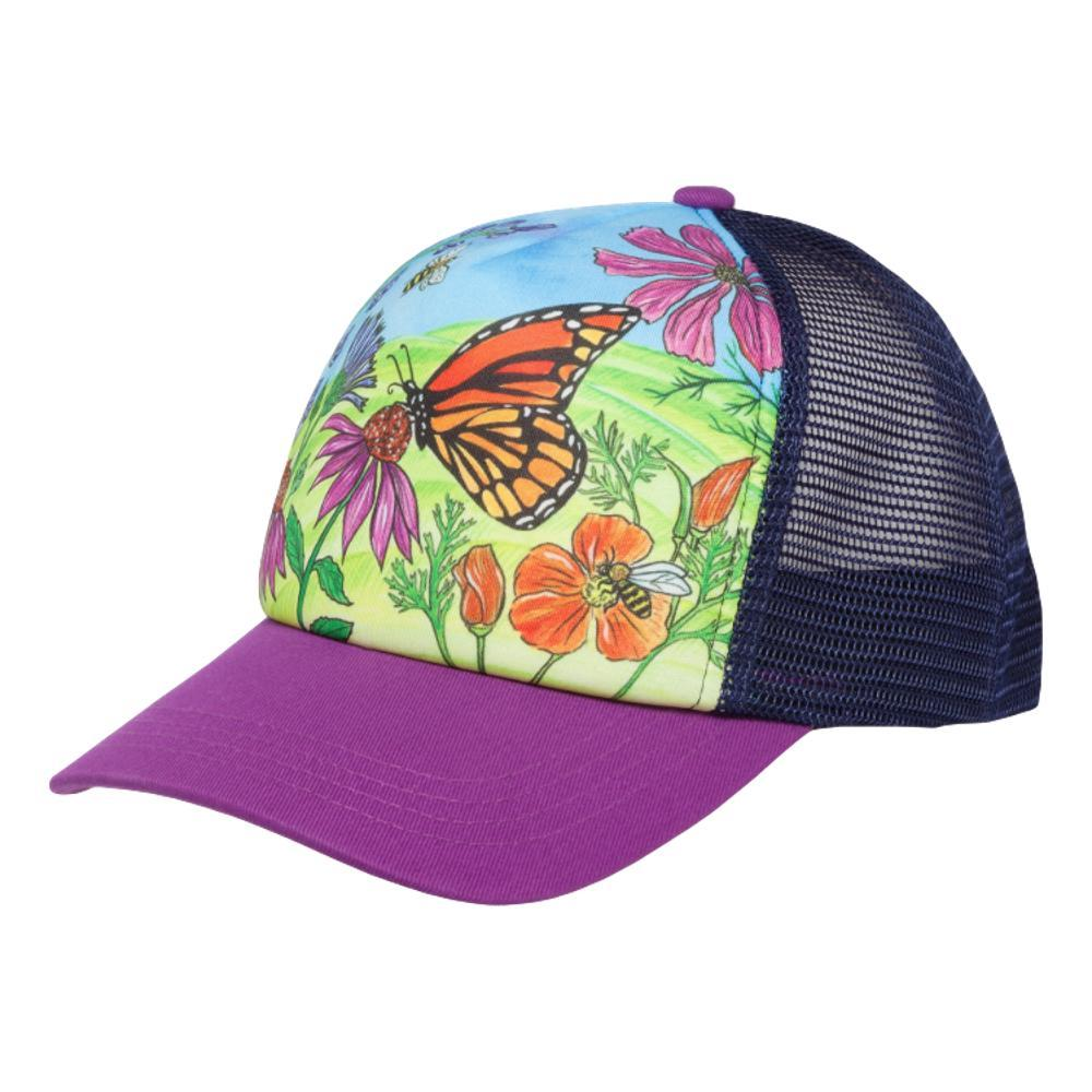 Sunday Afternoons Kids' Cooling Trucker Hat - Butterflies & Bees