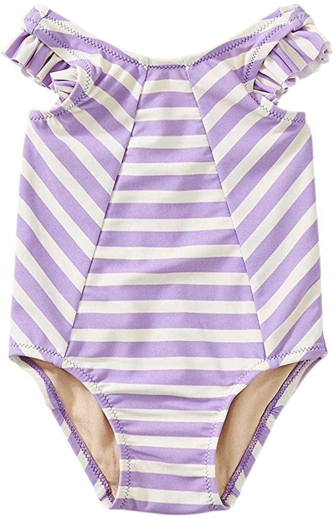 Tea Collection Striped Baby One-Piece - 2-Color Stripe AST