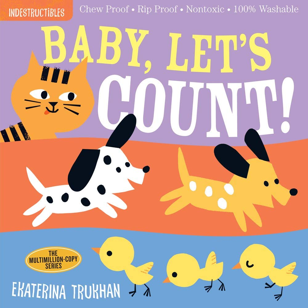 Indestructibles Books - Baby Let's Count