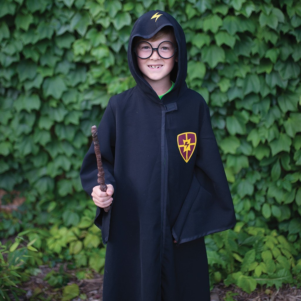 Great Pretenders Wizard Cloak with Glasses