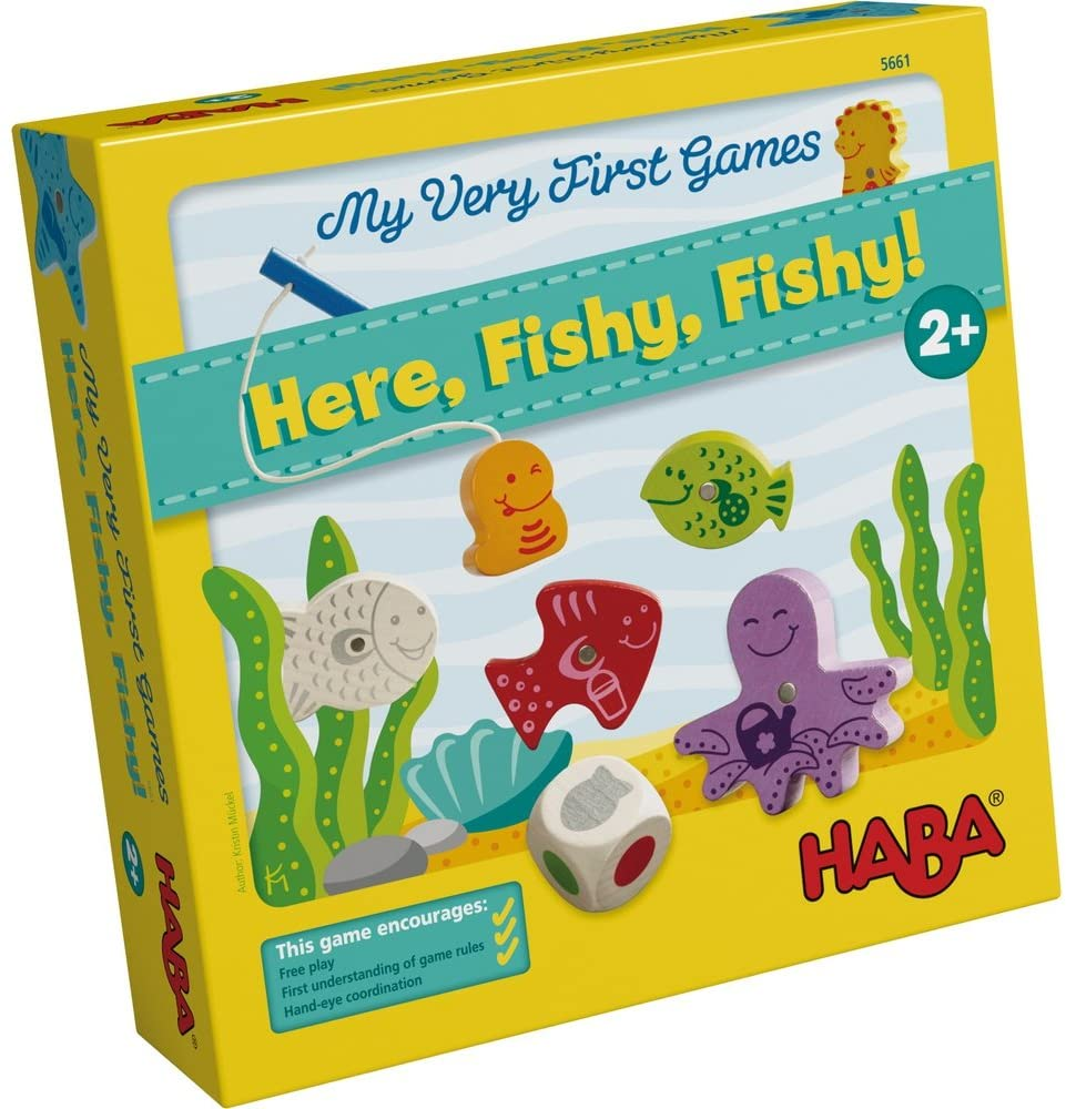 HABA My Very First Games - Here Fishy Fishy
