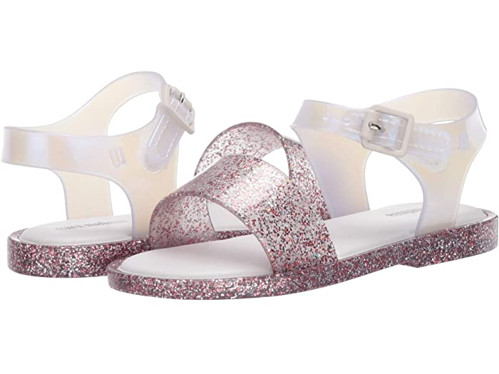 Mini Melissa Mar Sandal III - Purple Glitter