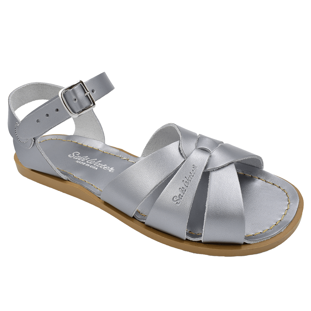 Salt Water Sandals Original in Pewter, 814