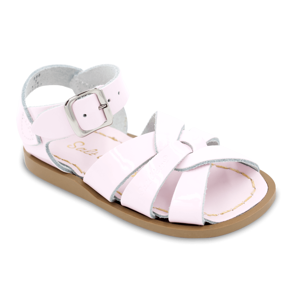 Salt Water Sandals Original in Shiny Pink, 888