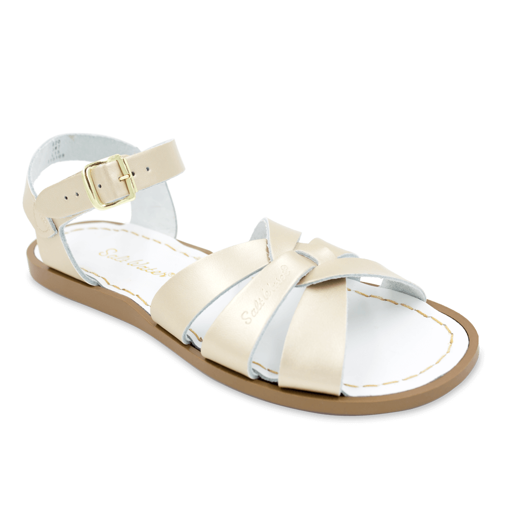 Salt Water Sandals Original in Gold, 820