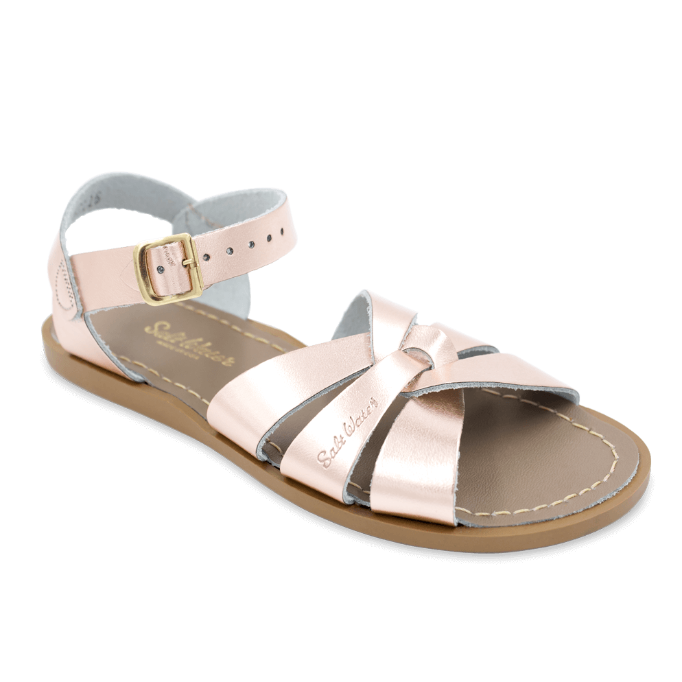 Salt Water Sandals Original in Rose Gold, 821