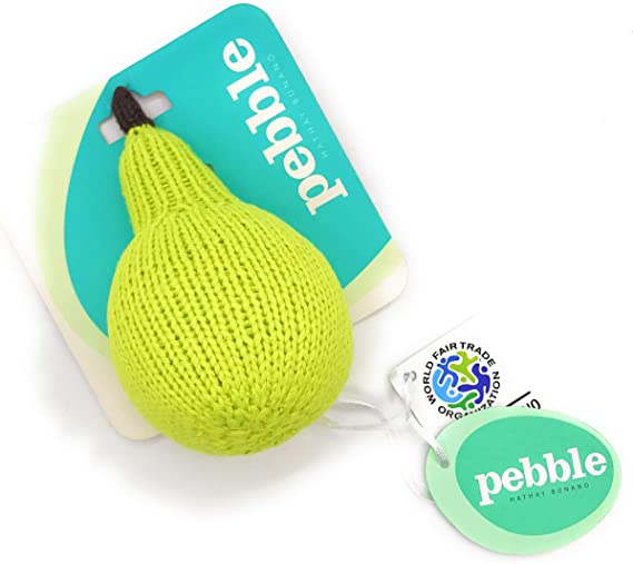 Pebble Rattles - Pear