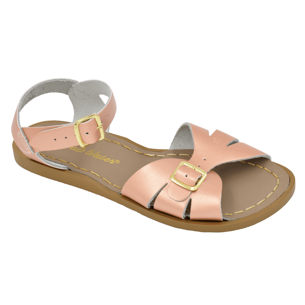Salt Water Sandals Classic in Rose Gold, 921
