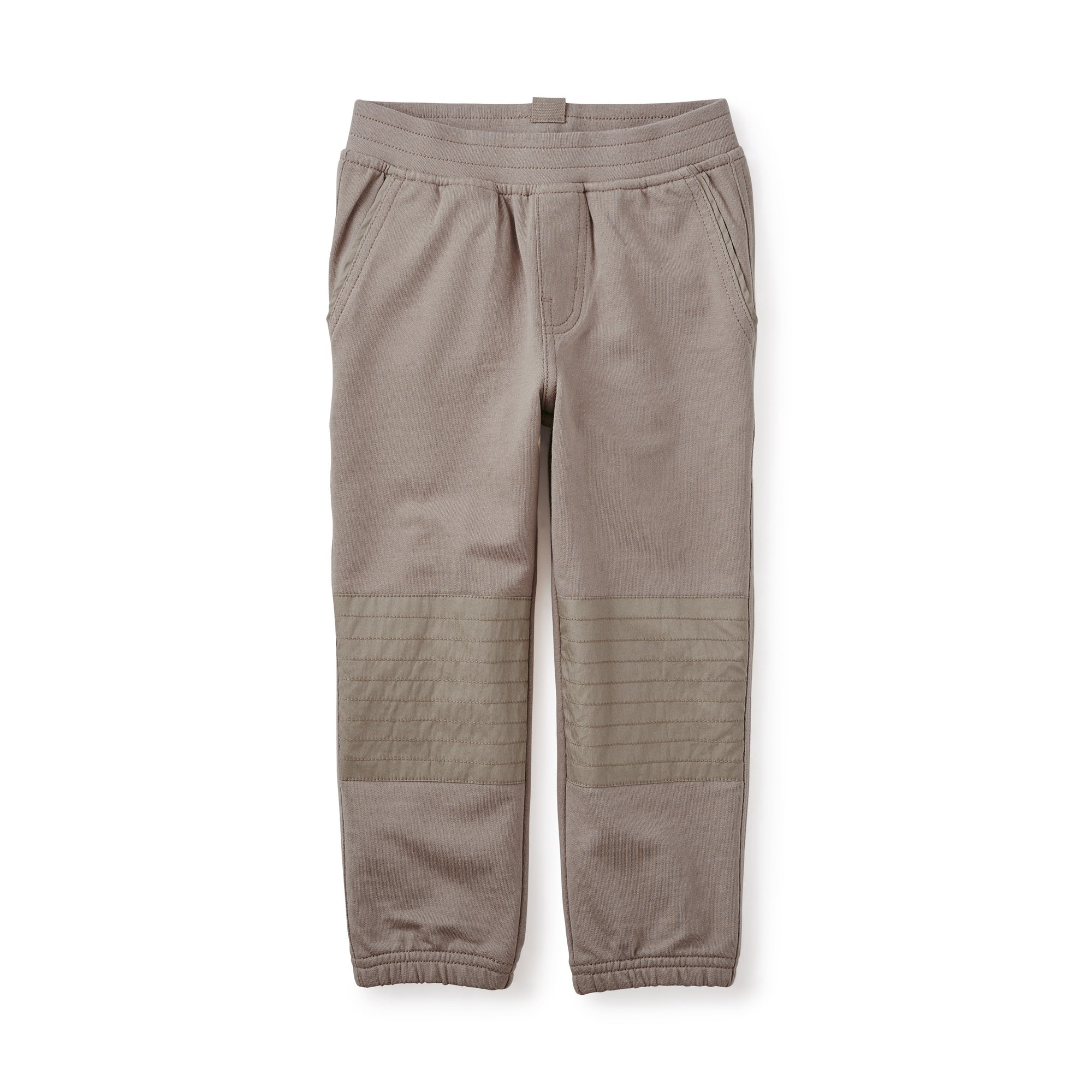 Tea Collection French Terry Moto Pants - Paper Bag