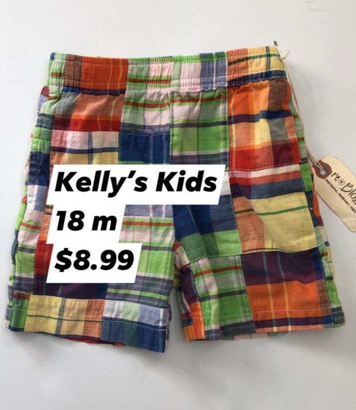 Resale 18 m Kelly's Kids Madras Shorts