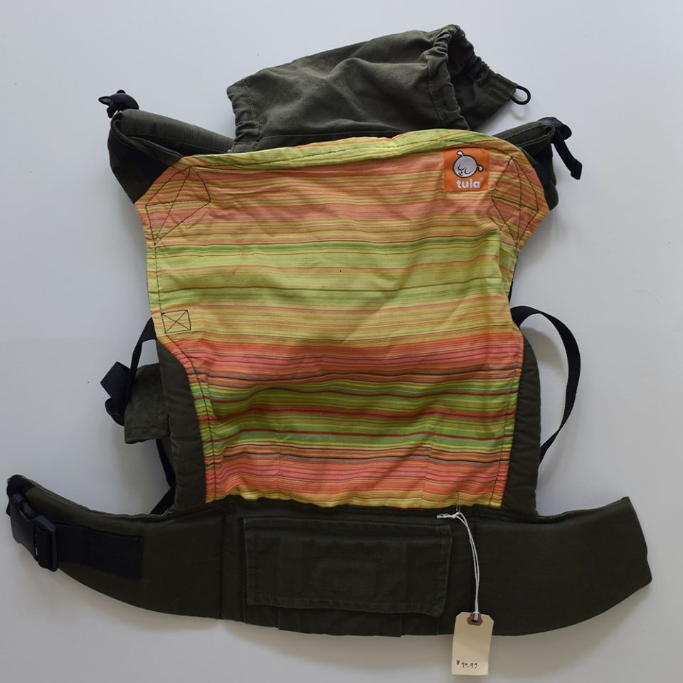 Resale Tula Baby Carrier - Multi Stripe
