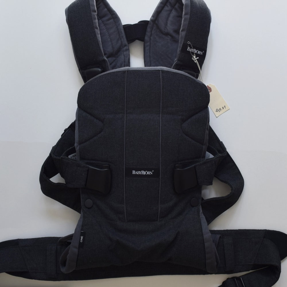 Resale Baby Bjorn One Carrier - Black