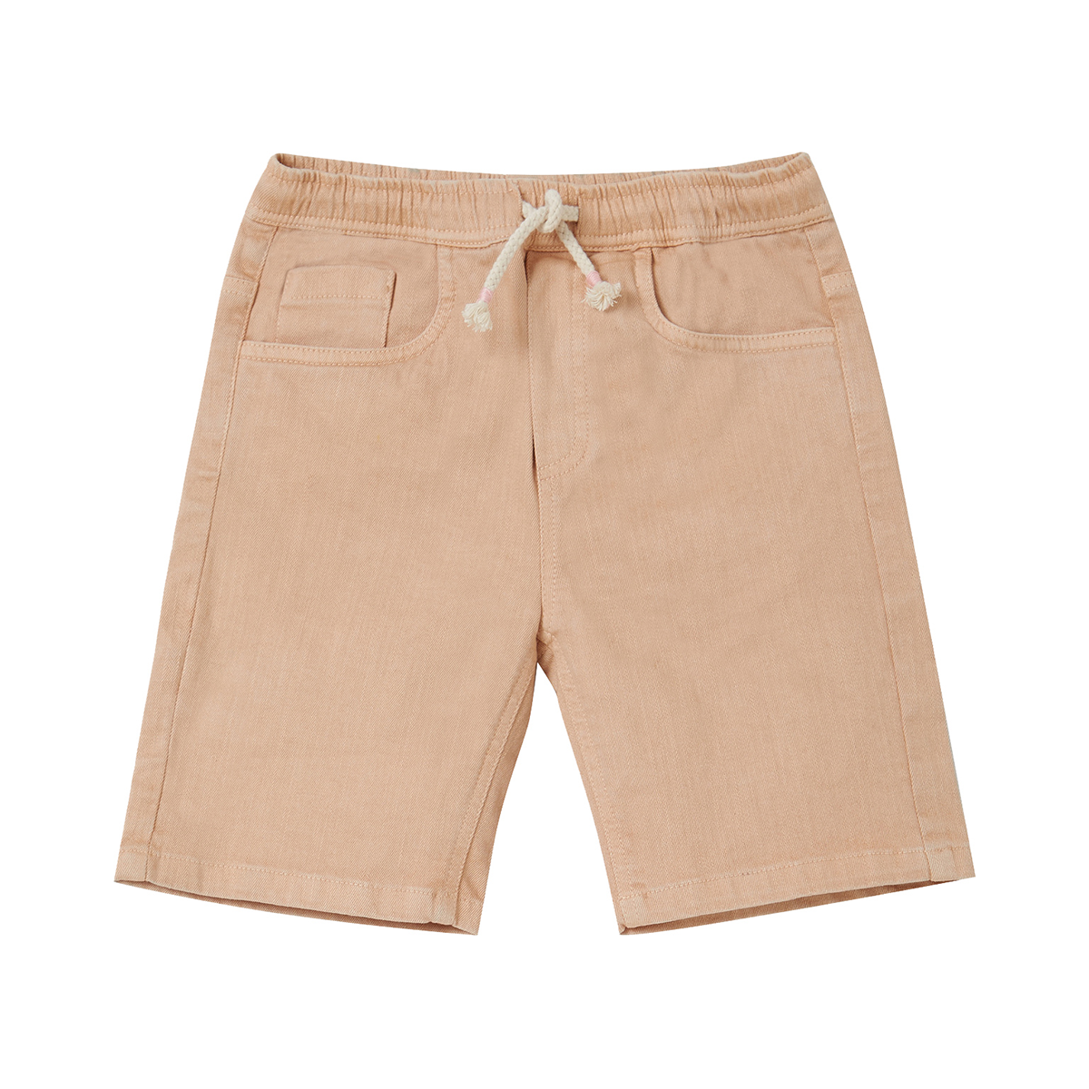 Art & Eden Organic Cotton Cole Shorts - Khaki