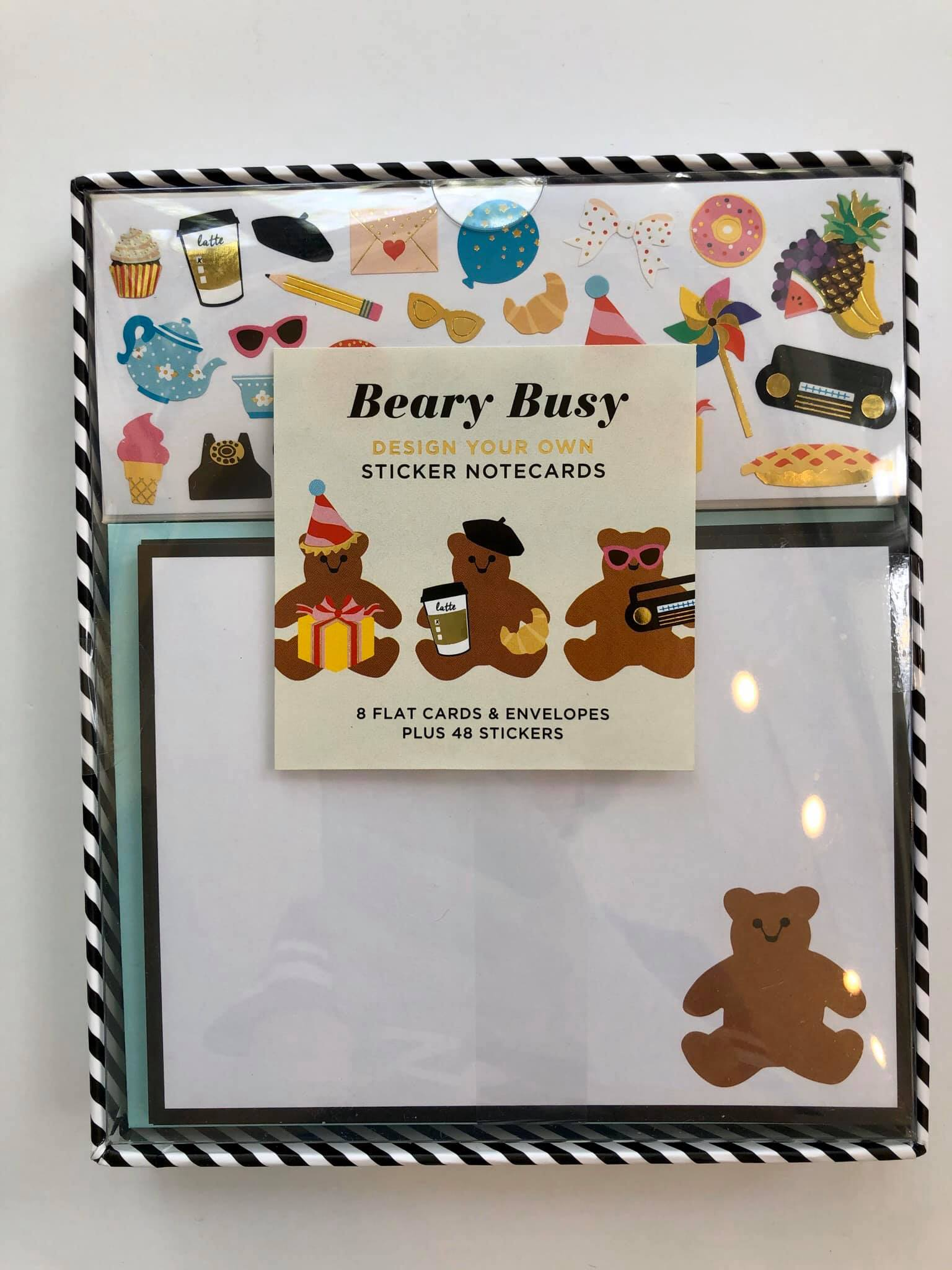 Mrs. Grossman's Beary Busy Sticker Stationary