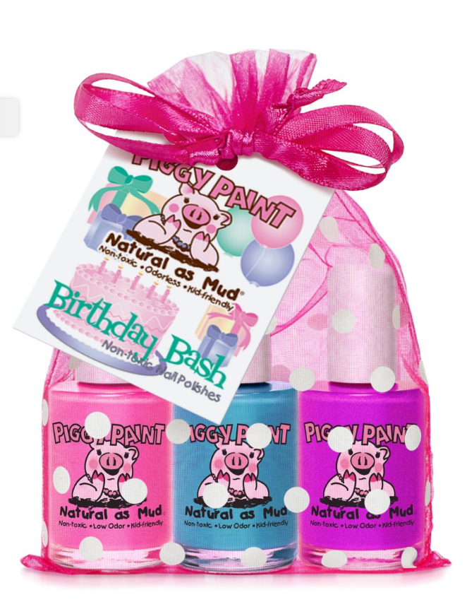 Piggy Paint - Birthday Bash Nail Polish Gift Set
