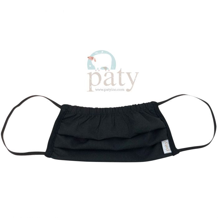 Paty Kids Face Mask Cover - Black