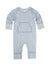 Feather Baby Kangaroo Romper - 4 Points on Blue