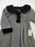 Resale 2T Good Lad Fleece Jacket - Grey with Black Trim