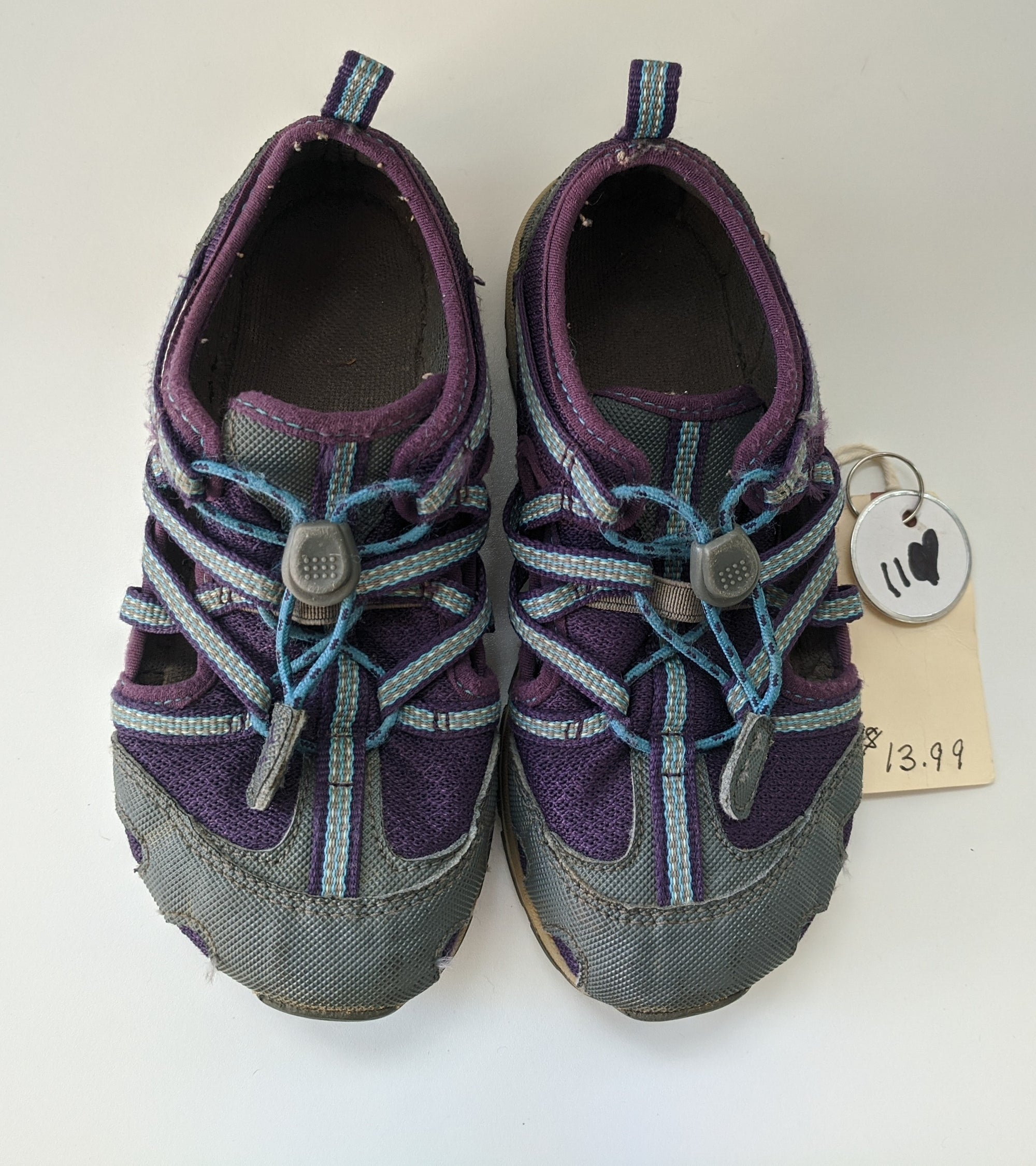 Resale C11 Chaco Water-Friendly Shoes - Blue/Purple