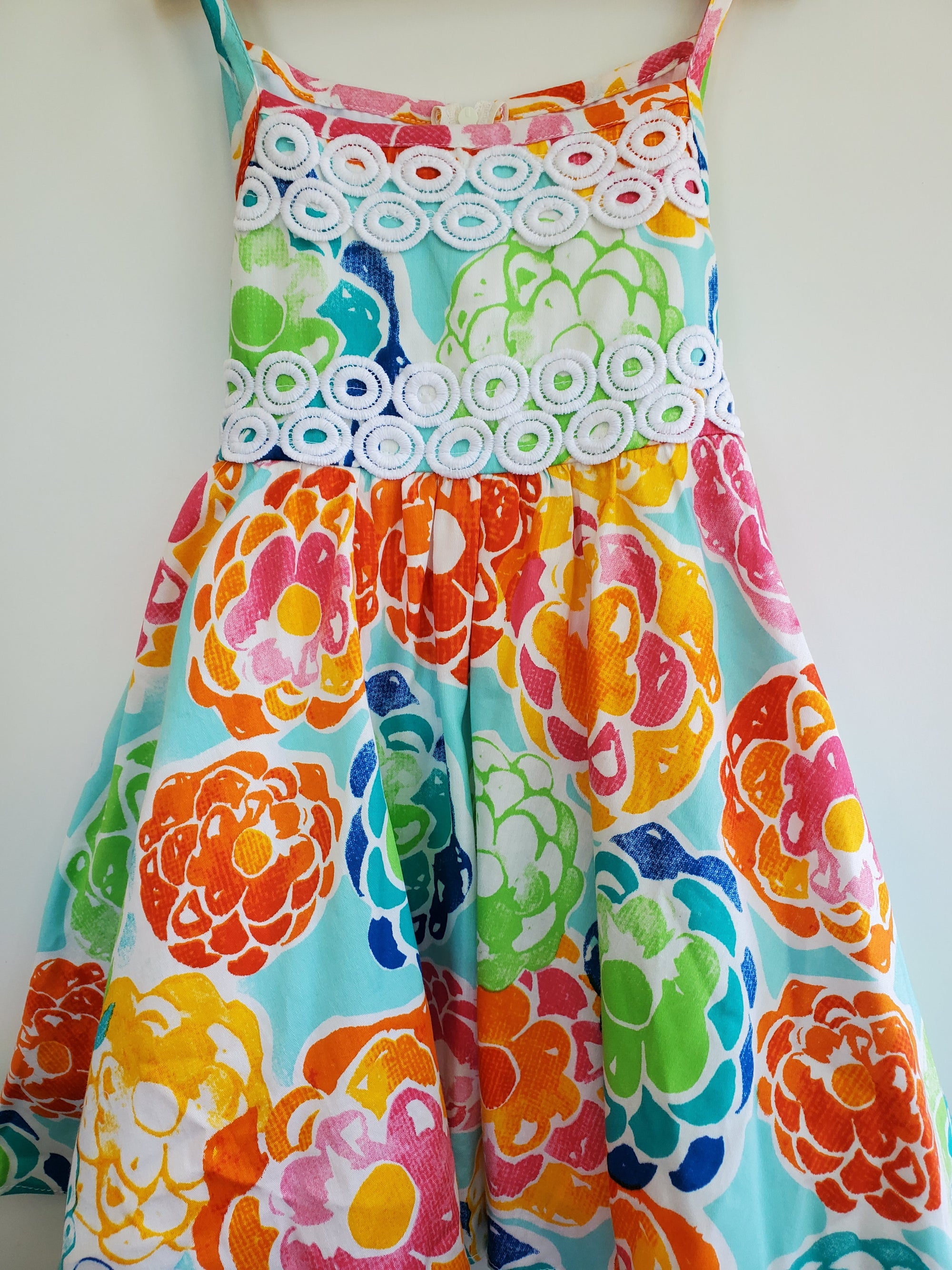 Resale 3T Rare Editions Floral Dress